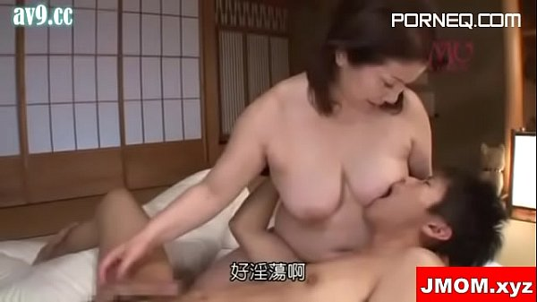 Japanese Grand Mother Big Ass Riding Son